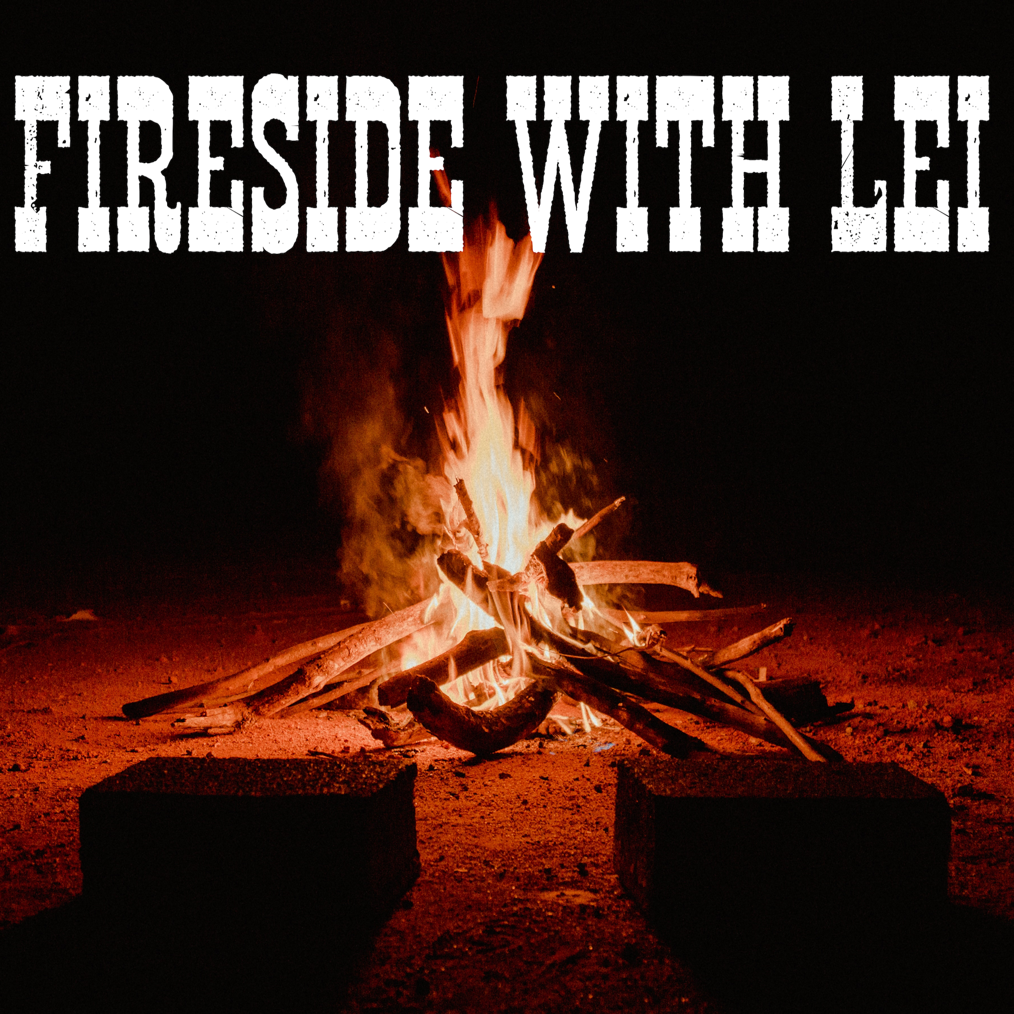 Fireside with Lei